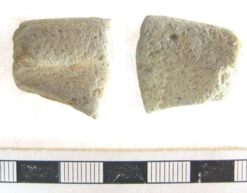 A resized image of Roman Vessel Sherd Rim