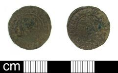 A resized image of Post Medieval Halfpenny Token