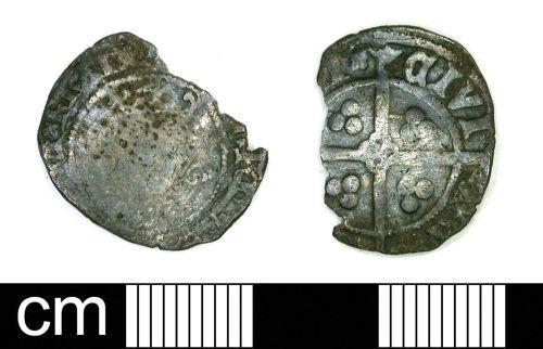 DENO-31A7B7: Medieval Coin: Penny of Edward III or Richard II
