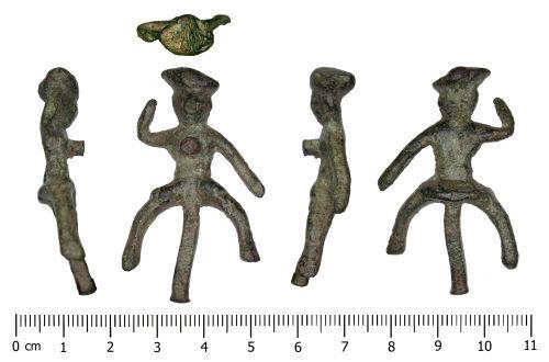 DENO-A20E64: Roman Figurine (Horse and Rider)
