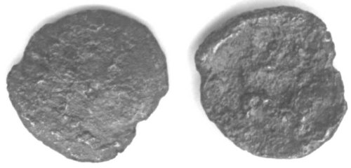 CCI-10361: An Iron Age Minim from DORSET Atrebates Celtic Coin Index reference:  1.0361