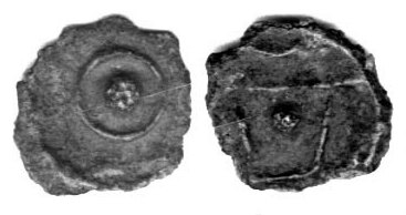 CCI-20034: An Iron Age Potin from SUFFOLK Cantii Celtic Coin Index reference:  2.0034