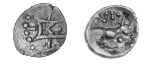 CCI-30638: An Iron Age Minim from NULL of Verica Atrebates Celtic Coin Index reference:  3.0638