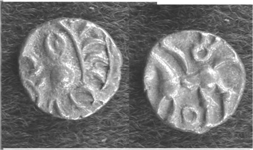 CCI-40299: An Iron Age Minim from NULL Atrebates Celtic Coin Index reference:  4.0299