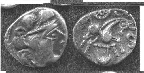 CCI-403: An Iron Age Unit from NULL Atrebates Celtic Coin Index reference:  4.03