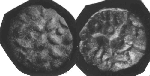 CCI-650014: An Iron Age Unit from NORTH LINCOLNSHIRE of Iisuprasu Corieltavi Celtic Coin Index reference:  65.0014