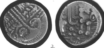 CCI-670354: An Iron Age Gold stater from HAMPSHIRE Durotriges Celtic Coin Index reference:  67.0354