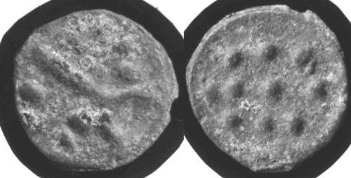 CCI-670948: An Iron Age Bronze unit from DORSET Durotriges Celtic Coin Index reference:  67.0948