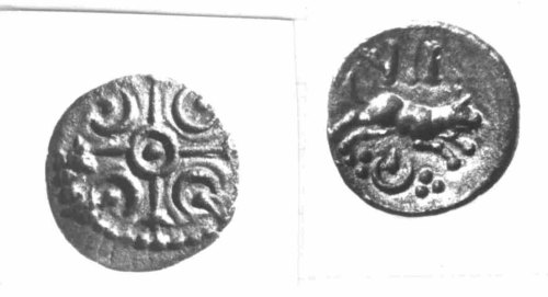 CCI-880076: An Iron Age Minim from NULL of Verica Atrebates Celtic Coin Index reference:  88.0076