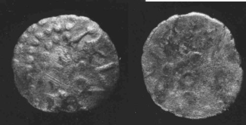 CCI-953394: An Iron Age Unit from OXFORDSHIRE Dobunni Celtic Coin Index reference:  95.3394