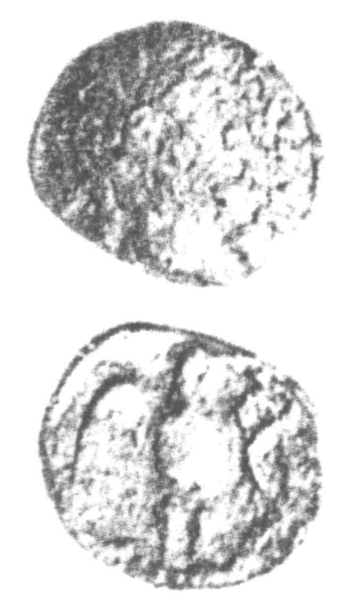 A resized image of An Iron Age Unit from SURREY Atrebates Celtic Coin Index reference:  96.0073