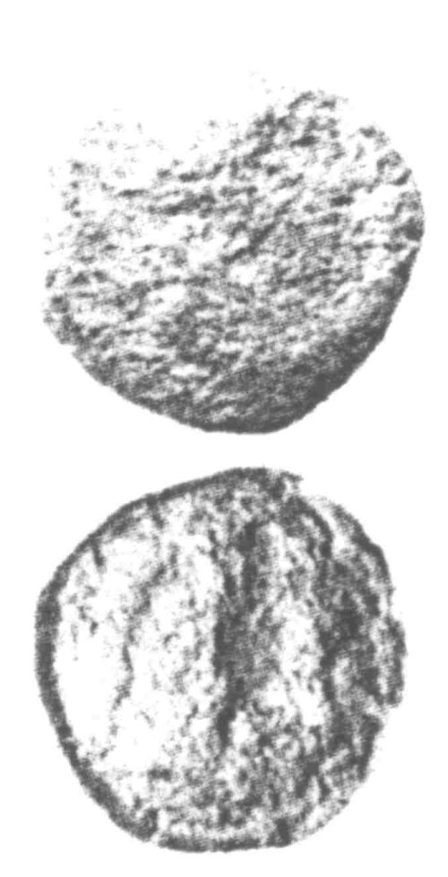 A resized image of An Iron Age Unit from SURREY Atrebates Celtic Coin Index reference:  96.0074