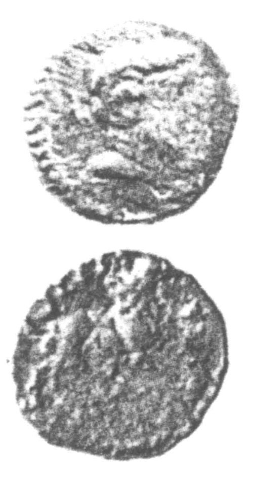 CCI-9602: An Iron Age Unit from SURREY of Eppillus Atrebates Celtic Coin Index reference:  96.02