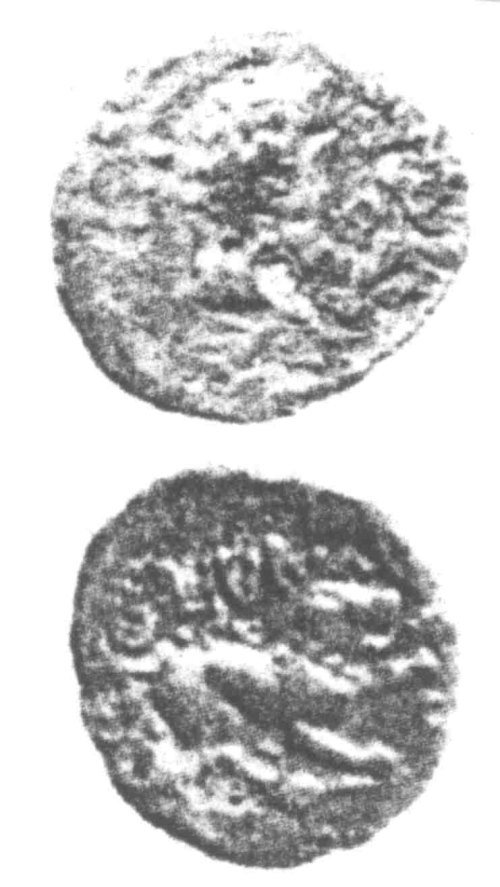 CCI-960218: An Iron Age Unit from SURREY Atrebates Celtic Coin Index reference:  96.0218