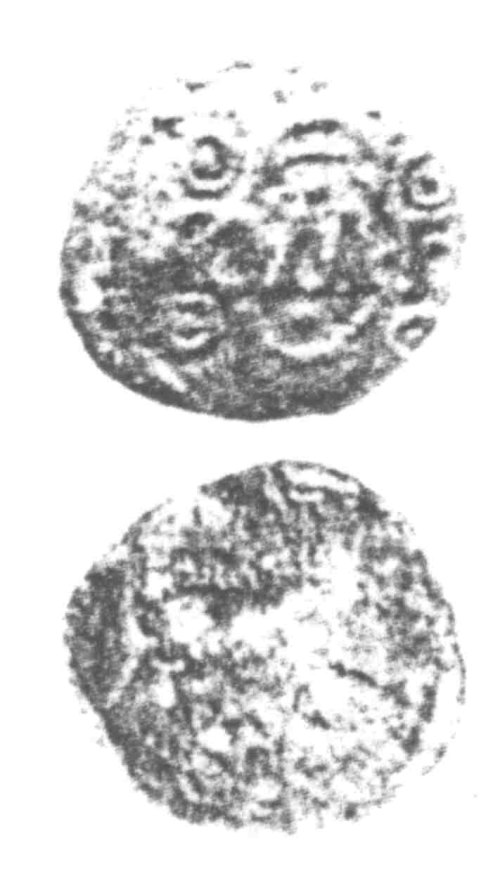 CCI-960278: An Iron Age Unit from SURREY of Verica Atrebates Celtic Coin Index reference:  96.0278