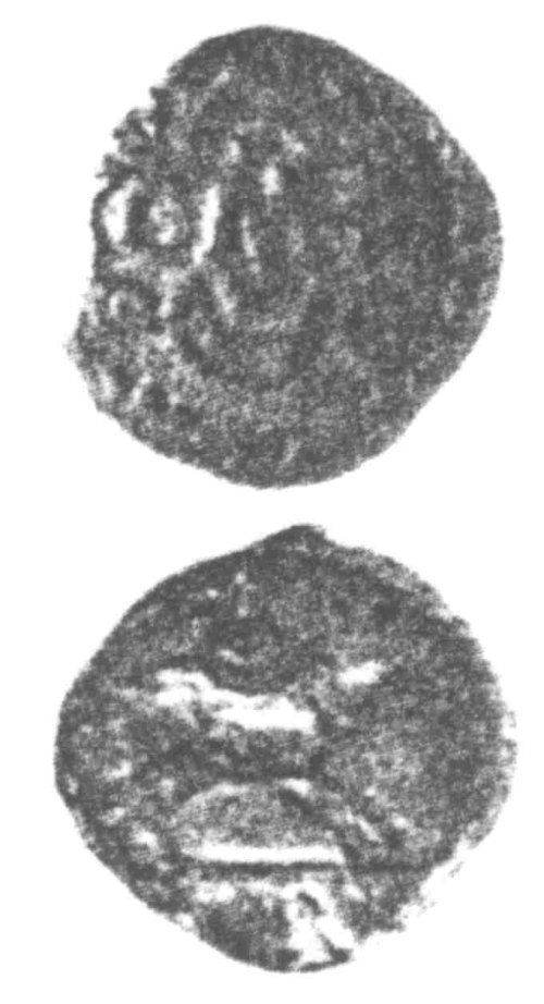 CCI-960292: An Iron Age Unit from SURREY of Verica Atrebates Celtic Coin Index reference:  96.0292