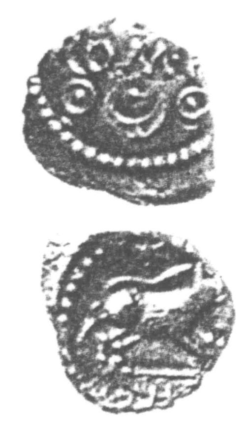 A resized image of An Iron Age Unit from SURREY of Verica Atrebates Celtic Coin Index reference:  96.0293