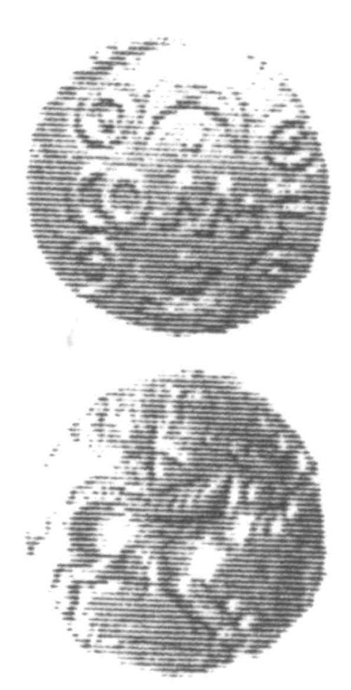 CCI-960299: An Iron Age Unit from SURREY of Verica Atrebates Celtic Coin Index reference:  96.0299