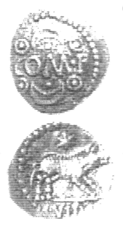 CCI-960306: An Iron Age Unit from SURREY of Verica Atrebates Celtic Coin Index reference:  96.0306