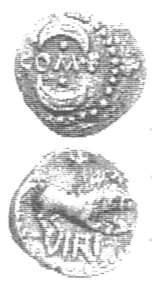 A resized image of An Iron Age Unit from SURREY of Verica Atrebates Celtic Coin Index reference:  96.0362