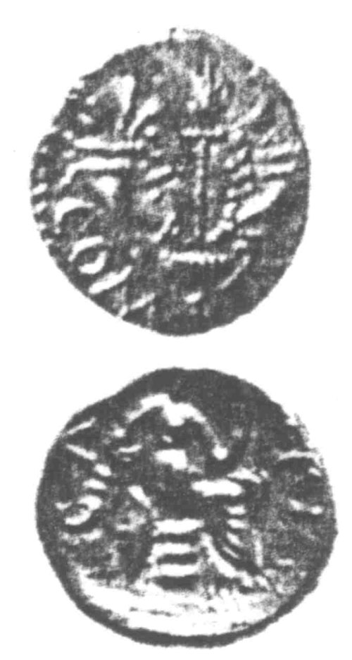 CCI-960418: An Iron Age Unit from SURREY of Verica Atrebates Celtic Coin Index reference:  96.0418