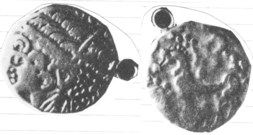 A resized image of An Iron Age Gold stater from DORSET NULL Celtic Coin Index reference:  96.2754