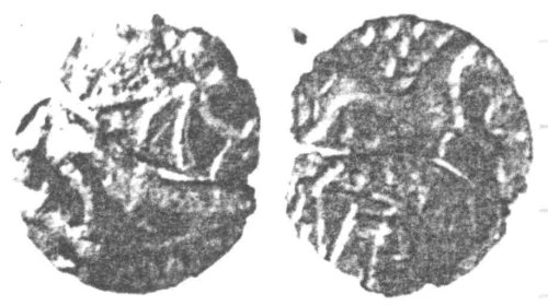 CCI-962832: An Iron Age Unit from SUFFOLK of Anted Iceni Celtic Coin Index reference:  96.2832