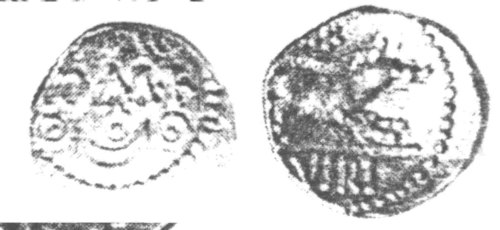 A resized image of An Iron Age Unit from SURREY of Verica Atrebates Celtic Coin Index reference:  97.082