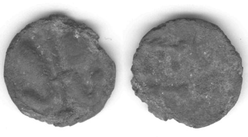 CCI-981027: An Iron Age Bronze unit from WILTSHIRE Uncertain Celtic Coin Index reference:  98.1027