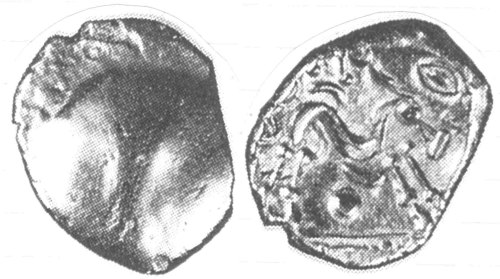 CCI-98222: An Iron Age Gold stater from NULL NULL Celtic Coin Index reference:  98.222