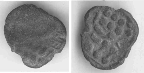 CCI-990901: An Iron Age Silver stater from DORSET Durotriges Celtic Coin Index reference:  99.0901