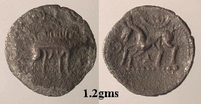 CCI-9917: An Iron Age Unit from NULL Corieltavi Celtic Coin Index reference:  99.17