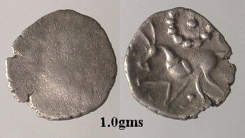 CCI-991701: An Iron Age Unit from NULL Corieltavi Celtic Coin Index reference:  99.1701
