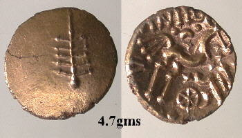 CCI-991704: An Iron Age Gold stater from NULL of Anted Dobunni Celtic Coin Index reference:  99.1704