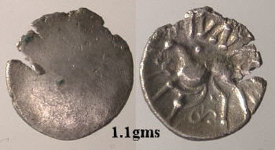 A resized image of An Iron Age Unit from NULL of Aun Co Corieltavi Celtic Coin Index reference:  99.1709