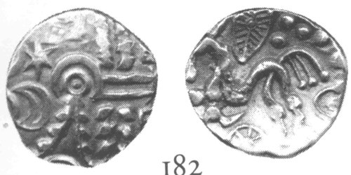 A resized image of An Iron Age Gold stater from NULL NULL Celtic Coin Index reference:  99.1784