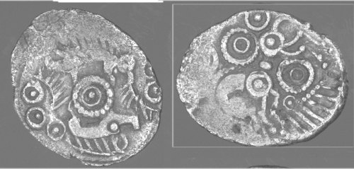CCI-991816: An Iron Age Unit from HAMPSHIRE Uninscribed Celtic Coin Index reference:  99.1816