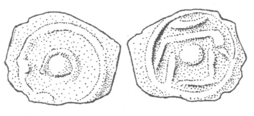 CCI-991835: An Iron Age Potin from SURREY Cantii Celtic Coin Index reference:  99.1835
