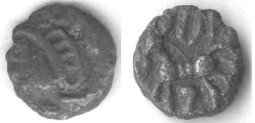 A resized image of An Iron Age Unit from NULL Atrebates Celtic Coin Index reference:  99.1841