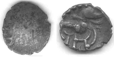 A resized image of An Iron Age Unit from NULL Corieltavi Celtic Coin Index reference:  99.1842