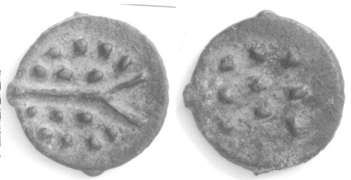 CCI-991928: An Iron Age Bronze unit from NULL Durotriges Celtic Coin Index reference:  99.1928