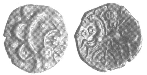 CCI-991929: An Iron Age Unit from NULL Dobunni Celtic Coin Index reference:  99.1929