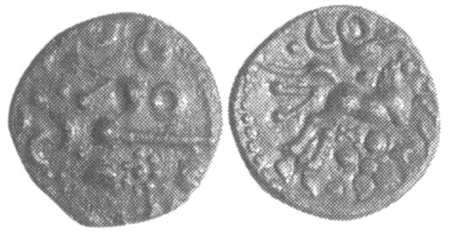 CCI-991931: An Iron Age Unit from NULL Dobunni Celtic Coin Index reference:  99.1931