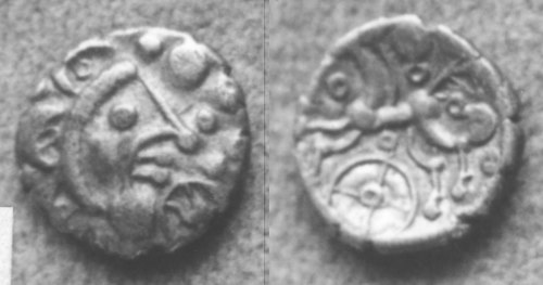CCI-991932: An Iron Age Unit from NULL Dobunni Celtic Coin Index reference:  99.1932
