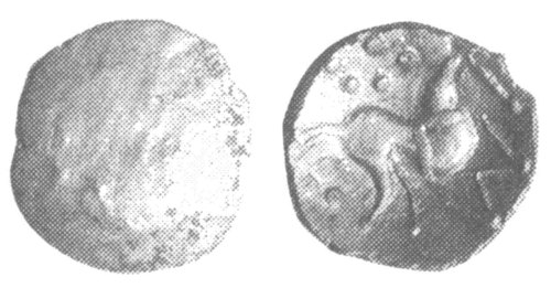 CCI-991936: An Iron Age Half unit from NULL Corieltavi Celtic Coin Index reference:  99.1936