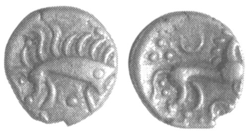 A resized image of An Iron Age Unit from NULL Iceni Celtic Coin Index reference:  99.1939