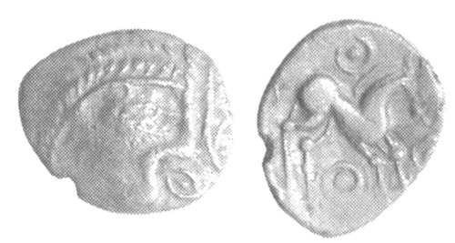 A resized image of An Iron Age Unit from NULL Iceni Celtic Coin Index reference:  99.194