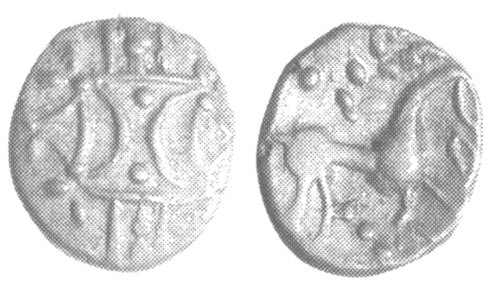 A resized image of An Iron Age Unit from NULL Iceni Celtic Coin Index reference:  99.1944