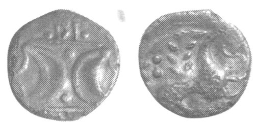 A resized image of An Iron Age Unit from NULL Iceni Celtic Coin Index reference:  99.1952