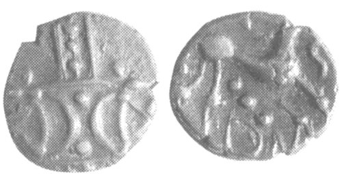 CCI-991954: An Iron Age Unit from NULL of Ece(n) Iceni Celtic Coin Index reference:  99.1954